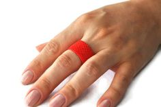 https://www.etsy.com/listing/128341850/coral-red-ring-from-faceted-glass-bead