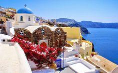 Construindo Minha Casa Clean: Arquitetura e Beleza em Santorini na Grécia! Ótima Dica de Viagem!