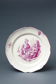 Plate | Niderviller pottery and porcelain factory | V&A Search the Collections