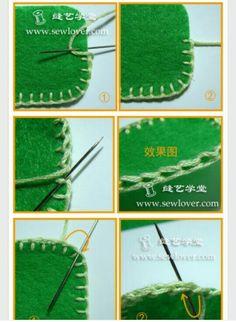 A coser :-)