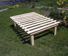 build a queen size platform bed on the cheap with storage space underneath for - Diy Queen Size Bed Frame