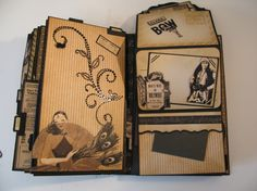 CurtanCall photo album and piano music box