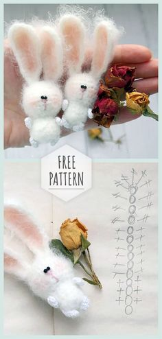 Mesmerizing Crochet an Amigurumi Rabbit Ideas. Lovely Crochet an Amigurumi Rabbit Ideas. Crochet Toys Patterns, Amigurumi Patterns, Stuffed Toys Patterns, Crochet Dolls, Amigurumi Doll, Lilo Und Stitch, Crochet Keychain Pattern, Easy Crochet Projects, Love Crochet
