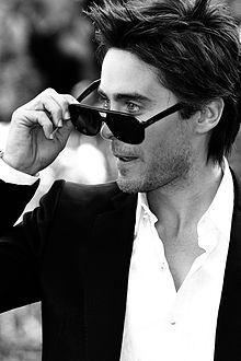 Jared Leto from 30 Seconds to Mars...this is another up and coming young actor to take an oscar one day