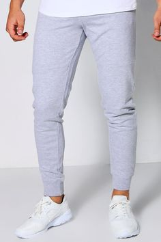 Boohoo - Skinny Fit Zip Joggers - $20.00 Mens Joggers Sweatpants, Drop Crotch, Famous Brands, Stylish Men, Skinny Fit, Boohoo, Lounge Wear, Fashion Forward, Man Shop