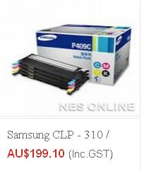 Buy high quality samsung-clp-310-clp-315-clx-3170-clx-3175-toner-set Toner at $199.10 and many other models at Cheap rates from eTONERS having ware-house in Sydney. Get FREE Shipping across Australia excluding Tasmania & Norfolk Island..!