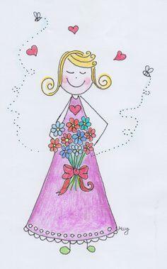 Happy Mami : Wer ist eine Happy Mami? Princess Peach, Disney Princess, Disney Characters, Fictional Characters, Aurora Sleeping Beauty, Happy, Art, Beautiful Drawings, Unconditional Love