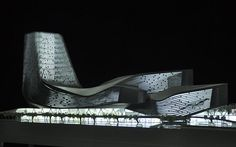 Model of Kaohsiung Port Terminal in Taiwan