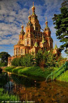 Bloggang.com : AdrenalineRush : รัสเซีย...เที่ยวเอง(ก็)ไม่ยาก>> St Petersburg ตอนที่ 1 Peterhof พระราชวังของปีเตอร์