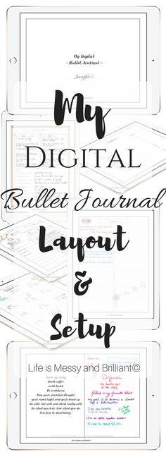 A digital bullet journal???? JOY! | Black Girl, Lost Keys