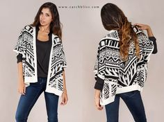 Aztec Sweater @ Catch Bliss Boutique  www.catchbliss.com  #Fashion #Style #StyleGuide