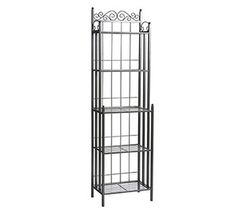 7. SEI Celtic 69-Inch Metal Baker's Rack