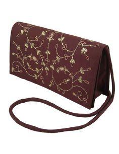 Las mujeres bolsos y carteras de noche de seda bordado: Amazon.es: Zapatos y complementos
