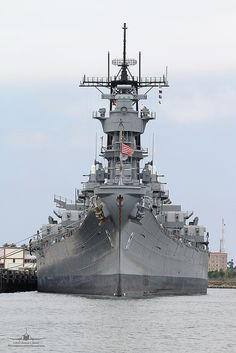 USS Iowa (BB61)  battleship   Was aboard to father's quarters and bridge after each deployment out of Norfolk, Va.