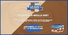 Ayudarnos a conocer un poquito mejor a todos los apasionados de la Nocilla Duo tiene premio.¡Participa!