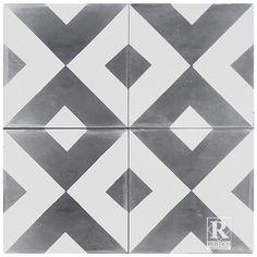 "Rustico Tile & Stone MeaLu 8"" x 8"" Diamond Cement Tile & Reviews | Wayfair"