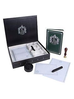 Harry Potter Slytherin Deluxe Stationery Set,