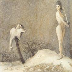 Alfred Kubin - The Slaughter Festivity. 1903