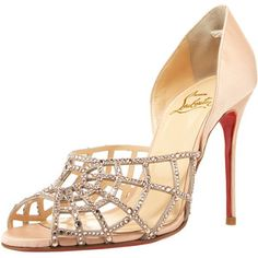 Christian Louboutin Spiderweb D'Orsay