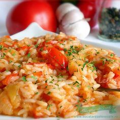 Ghiveci de legume - I Cook Different Side Dish Recipes, Meat Recipes, Baby Food Recipes, Vegetarian Recipes, Cooking Recipes, Healthy Recipes, Healthy Food, Food To Go, Food And Drink