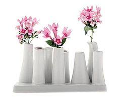 Vorzeige-Vasen: Vase Pooley Classic, weiß