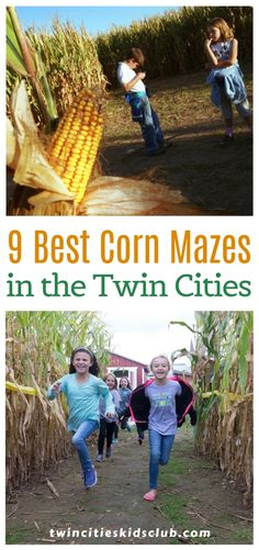 Twin Cities Kids Club Blogs: 9 Best Corn Mazes in the Twin Cities- Are you looking for some family-friendly fun in the Twin Cities this fall? Check out the best corn mazes in the Twin Cities. Gives your kids memories they'll have for a lifetime, and it's a relatively inexpensive activity. #fallactivities #kids #games #fungames #kids #kidsactivities #gameday #gameart #gamenight #fungames #funtimes #funfacts #funforkids #funinthesun #funprojectsforkids #funwithkids