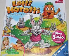 Ravensburger LOTTI KAROTTI Kinderspiel Gesellschaftsspiele für Kinder **OVP**sparen25.com , sparen25.de , sparen25.info