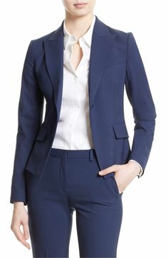 Main Image - Theory Brince B Good Wool Suit Jacket (Nordstrom Exclusive)