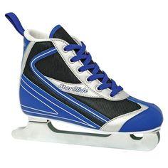 Lake Placid Starglide Double Runner Ice Skates - Boys, Multicolor