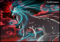 Off white BloodMOON by FleshCreature on DeviantArt Paper Animals, Anime Animals, Fantasy Creatures, Mythical Creatures, Off White Comic, Furry Wolf, Wolf Pup, Creature Picture, Demon Wolf