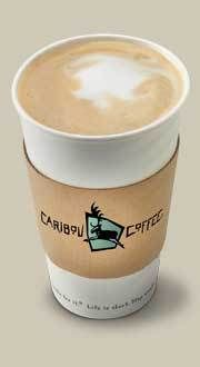 Caribou Coffee Chai Tea Latte (great in the cold winter months).