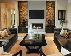 Get inspired by Modern Living Room Design photo by Masterpiece Design Group. Wayfair lets you find the designer products in the photo and get ideas from thousands of other Modern Living Room Design photos. Elegant Living Room, Living Room Modern, Living Room Designs, Small Living, Cozy Living, Masculine Living Rooms, Clean Living, Small Room Design, Family Room Design