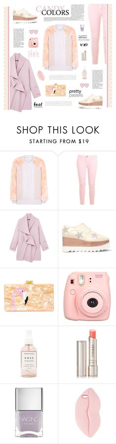"""""""Celebrate Our 10th Polyversary!"""" by cara-mia-mon-cher ❤ liked on Polyvore featuring STELLA McCARTNEY, Current/Elliott, Vince, Edie Parker, Fujifilm, Herbivore, By Terry, Nails Inc., polyversary and contestentry"""