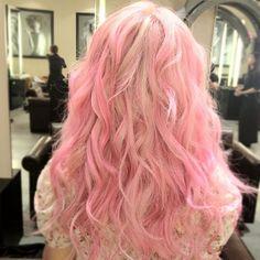 Pastel Pink and Platinum Blonde ... perfect ♥