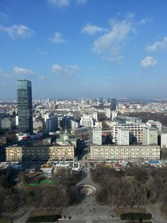 Warsaw view from PKIN