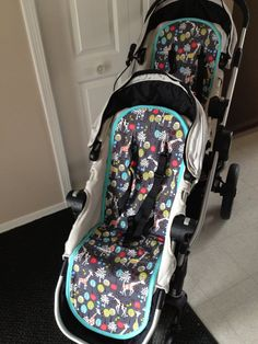 Baby jogger City Select stroller liners this is by bubbaandblue