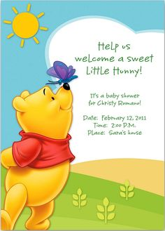 winnie the pooh baby shower messages http://www.babyshowerdcor.com/winnie-the-pooh-baby-shower-decorations/