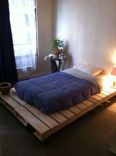 pallet bed platform
