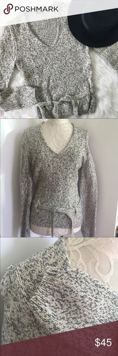 """J. Crew Merino Wool Sweater sz Small Beautiful off white Italian Merino Wool sweater. Super soft and warm. Great with skinny jeans and high boots. Size Small but could fit XS as well. Armpit to armpit 17"""", sleeves 28"""", overall length 24"""". J. Crew Sweaters V-Necks"""