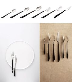 Jia's Chinese-Typography-Based Silverware Designs - Core77