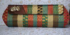 Multicolor Clutch Handbag.