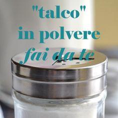 """""""Talco"""" in polvere fai da te"""