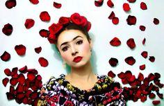 Tribute to Frida Kahlo from Kathe Nieto