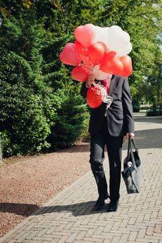 Bonte ballonnen: fantastische versiering van je bruiloft [Foto´s] Foto: 2Rings Trouwfotografie