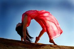 Turning Yoga Into Art