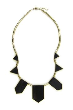Eye Candy Los Angeles, Vintage Geometric Shapes Necklace
