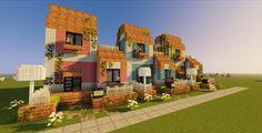Minecraft Shops, Minecraft Garden, Minecraft Cottage, Minecraft House Tutorials, Minecraft Modern, Cute Minecraft Houses, Minecraft City, Minecraft Plans, Minecraft House Designs