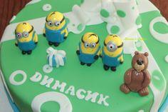 Fondant Minions Fondant Minions, Fondant Cakes