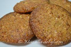 Más allá del gluten...: Galletas de Almendras con Coco (Receta SCD y GFCFS...