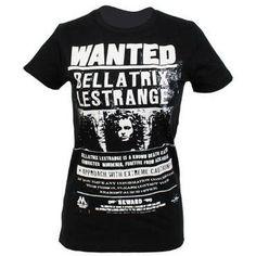 Harry Potter WANTED: Bellatrix Lestrange T-shirt